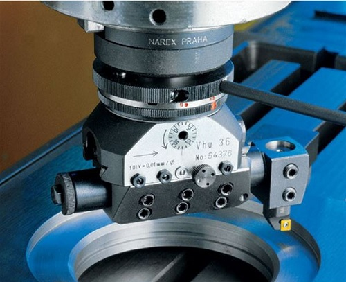 The Narex boring and facing heads are used for multiple machining operations
